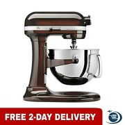 Kitchenaid Kp26m1xes Pro 600 Series 6 Quart Bowl-lift Stand Mixer 2 Day Delivery