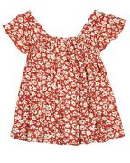 Losan Junior Girland039s Blouse With Flounce Shoulder Straps Sizes 8-16