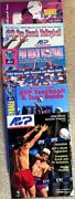 Eighty-five 1994-2002 Vintage Volleyball, Vb Monthly, Heat,avp Tour And Other Mags
