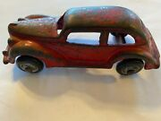 Vintage 1928 Arcade Cast Iron Coupe 4 1/2 Inches Long