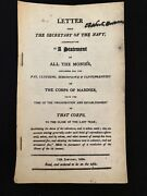 1804 Report To Congress On Finances Of The Us Marine Corps Usmc Us Rep R. Brown