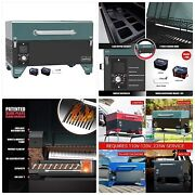 As300 Electric Portable Wood Pellet Tailgating Tabletop Grill And Smoker