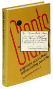 Draper Daniels / Giants Pigmies And Other Advertising People Signed 1st Ed 1974