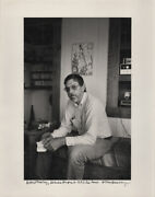 Allen Ginsberg / Robert Creeley Maine August 1983 His House Caption Title
