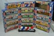 Lionel Spirit Of 76 Train Set, 13 Box Cars, Locomotive, And Caboose, Ln-boxed