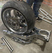 Cands Custom Swing Arm 240 Kit Stretched Chrome R1