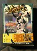 2021 Absolute Baseball Blaster Box Brand New Factory Sealed Fast Shipping