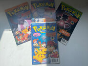 Pokemon Signed The First Movie Animation Comics Mewtwo Strikes Back 1998 1-4
