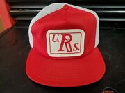 Vintage Truckers Snap Back Hat. U. Rs. Gun Related. Not Sure. Very Rare