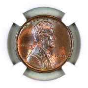 1910-s Ms64 Bn Ngc Lincoln Wheat Penny Superb Registry Quality Collection