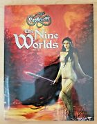 The Nine Worlds Hardcover Sourcebook Yggdrasill Rpg Cubicle 7 / Seven