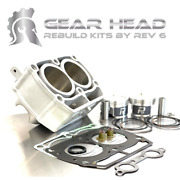 2011-2013 Polaris Rzr 800 Upgraded Top End Kit Cylinder Pistons Gaskets 10.1
