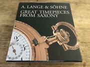 Vintage Genuine Lange And Sohne A Book Great Timepieces From Saxony M37404294685