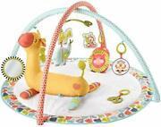 fisher-price Go Wild Gym And Giraffe Wedge Infant Activity Gym With Large Play...