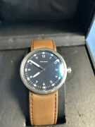 [nos] Sinn Audi Design Automatic Black Dial Menand039s Watch Made In Germany Rare