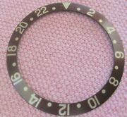 Very Nice Insert For Rolex Gmt Master 1675/8 Or 16758 Brown Chocolate Color