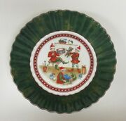 Villeroy And Boch Toyand039s Fantasy Christmas Elves Serving Bowl New Unused