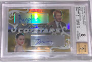 2020 Pop Century Metal Co-star Autographs Ford/ridley Gold 1/1 Bgs 8 9