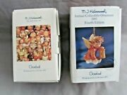 Vintage 1991 M.j. Hummel Annual Collectible Ornament Angelic Guide 202 Goebel