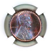 1909-p Vdb Ms66 Bn Ngc Lincoln Wheat Penny Registry Quality Collection