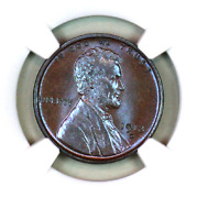 1913-d Ms66 Bn Ngc Lincoln Wheat Penny Superb Registry Quality Collection