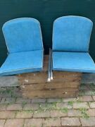 Vintage Fold Down Boat Seats Replacement Part Ohio Pick Up Only