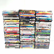 100 Dvd Collection Huge Lot Of Mixed Genre Movies See Photo Of Dvds - Lot 3108