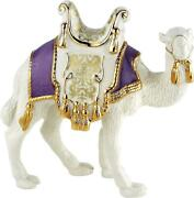 Lenox Nativity First Blessing Standing Camel Lavender Jacket New No Box