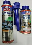 Liqui Moly Jectron Fuel Injector Cleaner Kit + Valve Cleaner Part2007, 2001