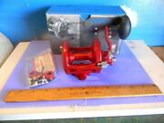 Avet Lx 6.0 Red Right Hand Lever Drag Fishing Reel-new In The Box