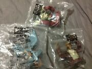 Lot Of 3 Star Wars Episode I Cup Topper Kfc Taco Bell Pizza Hut Sealed New