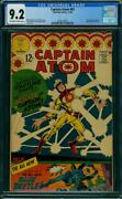 Captain Atom 83 Cgc 9.2 1st App Of Blue Beetle Ted Kord Rare In High Grade