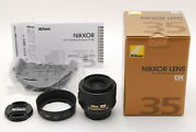 😊 New Contact Terminal Coated Nikon Af-s Dx Nikkor 35mm F/1.8 G From Japan