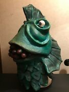 B-class Horror Of Party Beach Movie Monster Rubber Mask Toy Figure
