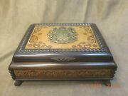 Vintage Reuge Musical Jewelry Box W/ 2 Tune 36 Note Changing Movemnt See Video