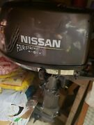 6hp Nissan Outboard Engine Motor