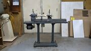 Vintage 1941 Sears Dunlap 9 Inch Wood Lathe Working Condition, 534.0601