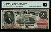 1878 2 Legal Tender Fr-48 - Graded Pmg 62 - Uncirculated