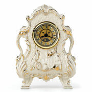Lenox Disney Cogsworth Figurine Clock Beauty And The Beast Working Face Rare New