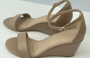 Kelly And Katie Women's Sandals, Wedges, Beige, Size 7