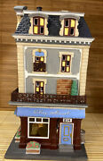 Dept 56 Heritage Village Coll. Christmas In The City Chez Monet 58938 Lighted