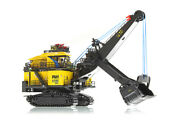 Weiss Brothers 022-1801 Pandh 4100xpc Mining Shovel 1/160 N Scale Die-cast Mib