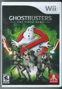 🔥🔥🔥 Ghostbusters The Video Game Nintendo Wii, 2009 W/ Manual 🎮🎮🎮