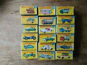 Collection Of 18 Matchbox Cars Vgc - Good Conditiondated From 60-80`s