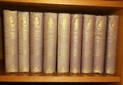 Charles Dickens 1874 Books, Lot 9 Of Dickens Works, Carleton's New Illustrated