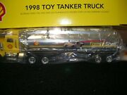Shell Oil Tanker, Battery Operated W/ Sounds And Lights By Equity Marketing