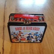 Riders Of The Silver Screen Collection Lunch Box And Toy Gun/knife