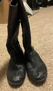 Jessica Simpson Black And Brown Boots Women's Size 7