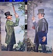 Haunted Mansion Dueling Ghosts Large Canvas Giclees 20x40 Each Halloween Disney