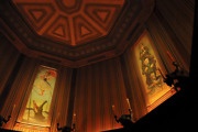 Huge Haunted Mansion Stretching Room Gallery Set Of 4 16x48 Disneyland Giclee